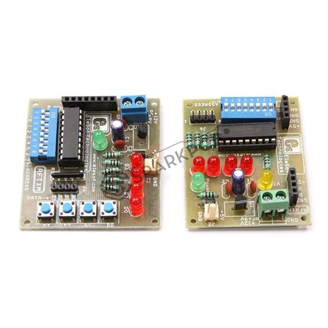 Ht12d rf433 with ht12e ht12d without rf module board sparkpcb