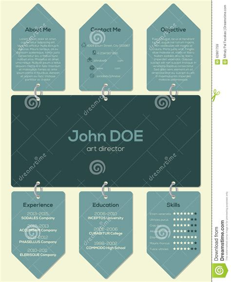http www topcard tag templates pic m header card desig jpg modern resume cv template with chain and tags stock vector
