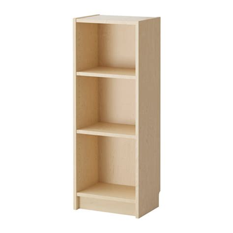 Ikea Narrow Bookcase Billy Bookcase Birch Veneer Ikea