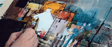 acrylic paint definition collage and texture in painting step by step guide how