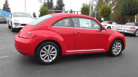 red volkswagen beetle 2014 volkswagen beetle tornado red stock 109591 youtube