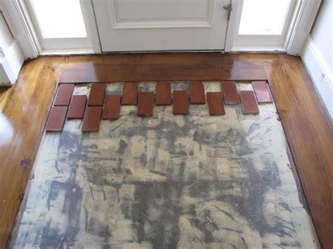 Brick Floor Tile 1000 Ideas About Brick Tile Floor On Brick