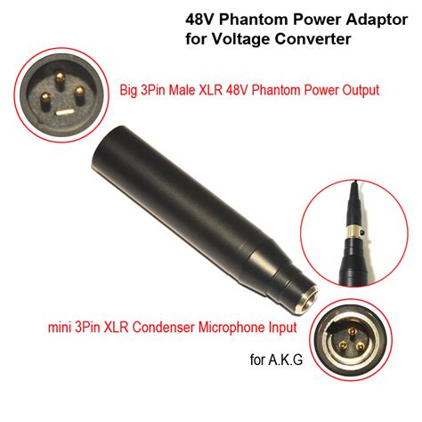 condenser microphone needs phantom power condenser mic xlr adaptor ta3f mini 3pin condenser microphone xlr to 3pin xlr phantom power