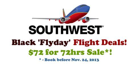 southwest flight deals 72 oneway 72hrs sale book before nov 24 2013 how do i find cheap