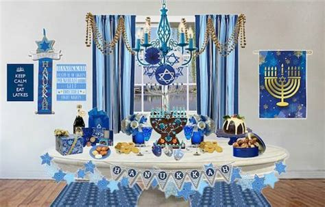 Chanukah Decorations by Olioboard Inspiration Decorating For A Hanukkah Celebration