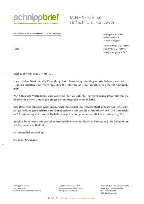 Wohnung Anfrage Brief Muster Vorlage Eingangsbest 228 Tigung Bewerbung Zum