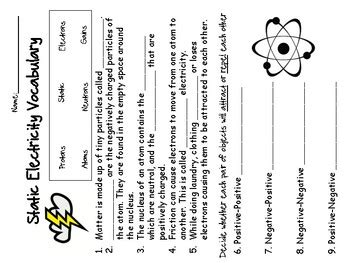 electrical energy worksheet doc inspiracao kids activities