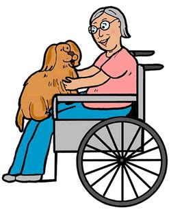 Image result for therapy dog visit clipart