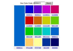 hex color code picker 5 color tools for web design