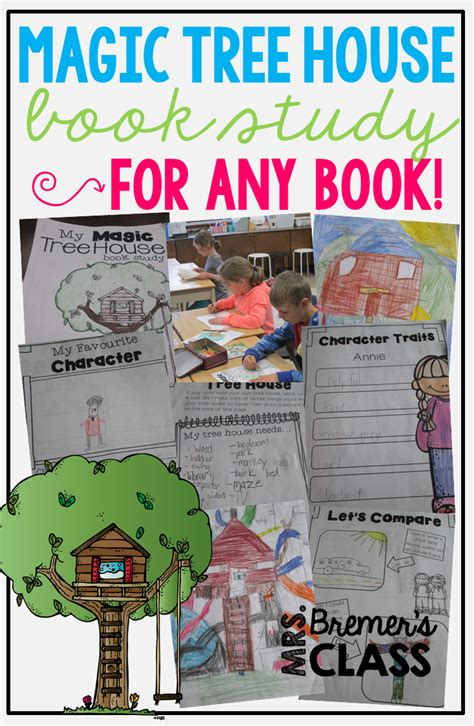 How Many Series Of House Mrs Bremer S Class Magic Tree House Activities For Any