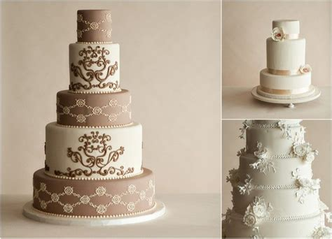Weddings On Line by Modern Wedding Cakes Cake Designs