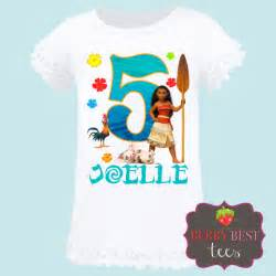 Moana birthday tee shirt catchmyparty com