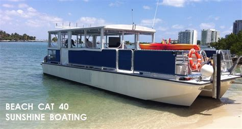 catamaran cruiser party cat party boat yacht rental in miami sunshine boating