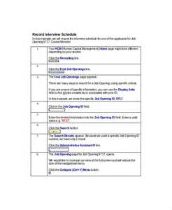 interview schedule template 7 free word pdf documents
