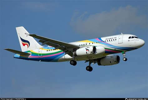 HS-PGN Bangkok Airways Airbus A319-132 - Planespotters.net ...