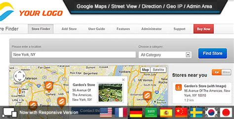 Free Store Finder Store Finder V1 9 1 Free Free Templates From Themeforest And