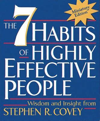 Buku Self Help The 7 Habits Of Highly Effective Peoplestephen Covey 7 novel bestseller 7 hal menarik pada novel