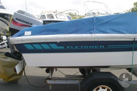 fletcher boat seat covers fletcher arrowsport 16 bravo classic for sale in anglesey
