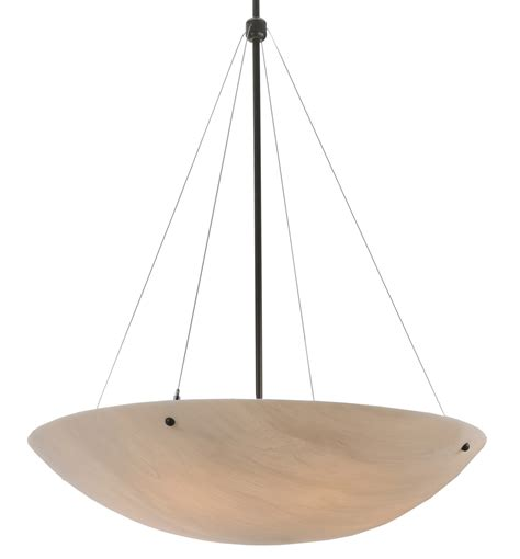 Inverted Bowl Pendant Lighting Meyda 117691 Cypola Inverted Bowl Pendant