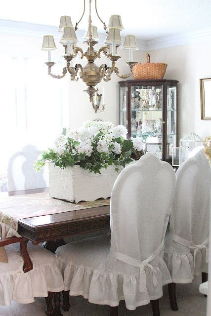 dining chairs slip cover reveal country farmhouse decor