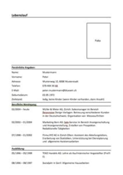 Muster Lehrzeugnis Schweiz Lebenslauf Muster Und Vorlagen Muster Und Vorlagen Kostenlos