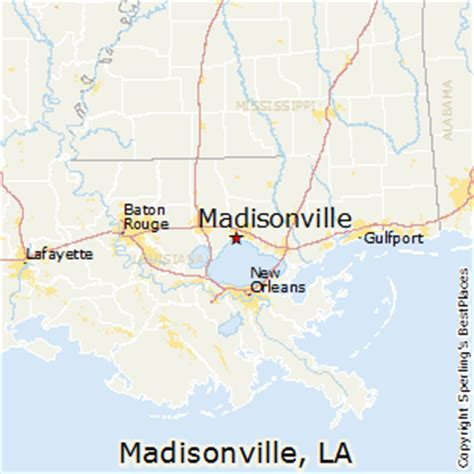 madisonville map best places to live in madisonville louisiana