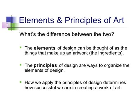 in design elements what is the meaning of intra screen unity elements principles of design