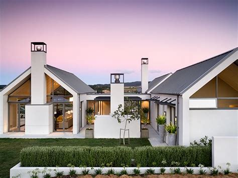 modern single story house plans single storey house design