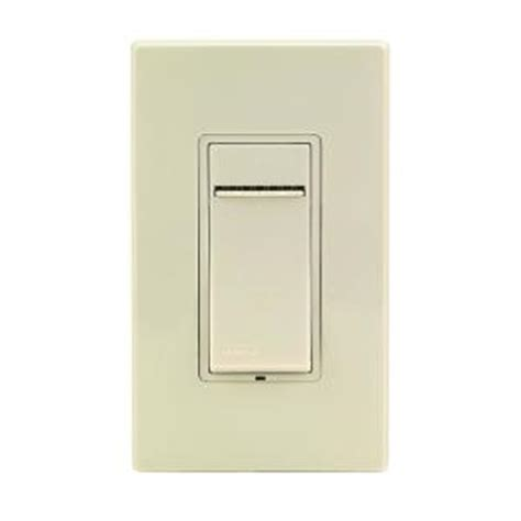 electrical leviton slide dimmer switch from home depot