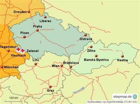 karte deutschland tschechien deutschland tschechien slowakei cschmitz landkarte