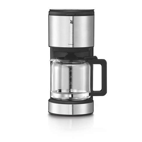 test koffiemachine wmf stelio aroma filterkaffeemaschine mit glaskanne