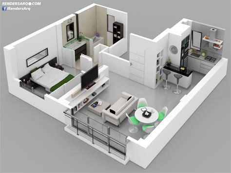 plantas 3d plantas 3d renders arquitectura