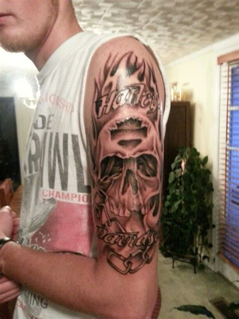 harley davidson skull tattoo designs harley davidson h d and gator tattoos