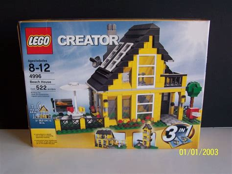Lego Creator Beach House 4996 3 In 1 5702014518186 Ebay Lego House 4996