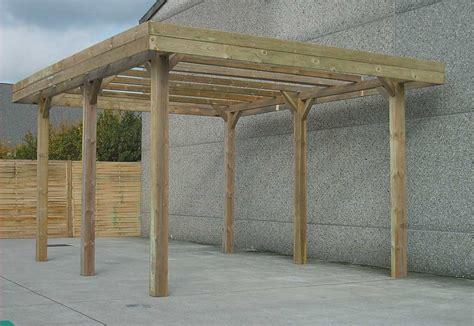 carport 4x5 carport en bois 4x5