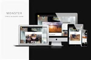 themes wordpress monster monster responsive blogging theme wordpress blog