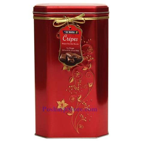 Loc Maria Crepe Belgian Chocolate Biscuits 18.3 Oz