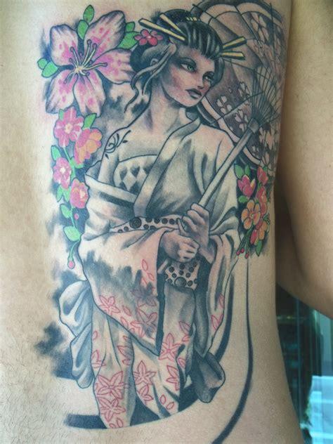 geisha tattoo artists geisha tattoo 14 finished by mojoncio on deviantart