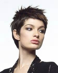 spikey hair styles for a black small spiky pixie haircut last hair models hair styles long