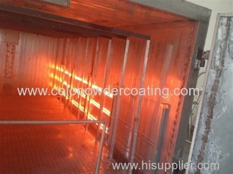 infrared powder curing l electric infrared oven for polymer coatings from china