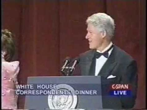 white house correspondents dinner youtube bill clinton bids farewell at the 2000 white house