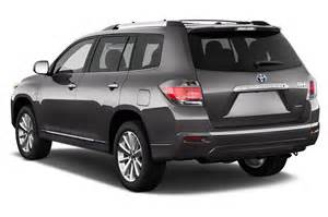2012 Toyota Highlander Hybrid 2012 Toyota Highlander Hybrid Reviews And Rating Motor Trend
