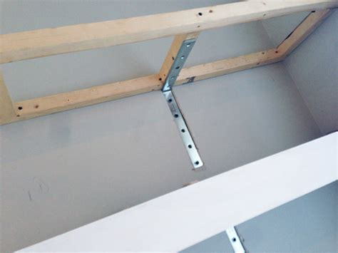 Diy Floating Shelf Brackets build your own floating shelves in no time