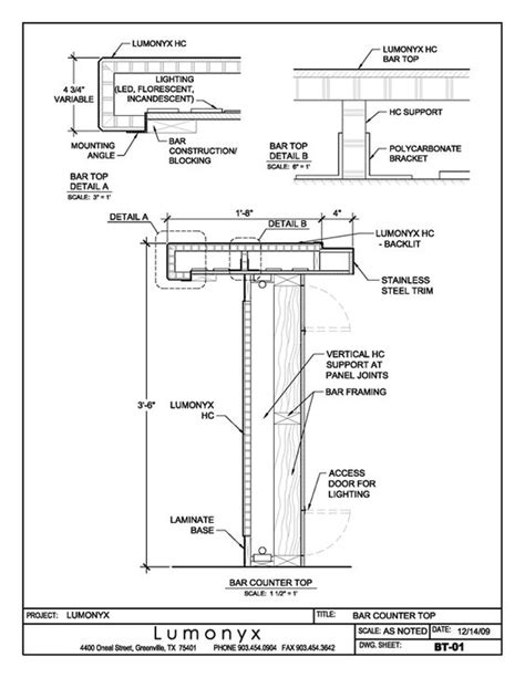 autocad section drawing bar detail drawings google search furniture technical