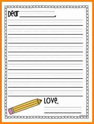 5 Elementary Letter Template Penn Working Papers Elementary Letter Template