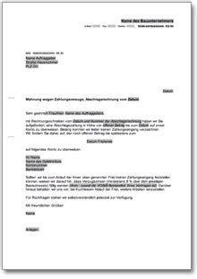 Vorlage Mahnung Wegen Mietrückstand beliebte downloads rechtliches 187 dokumente vorlagen