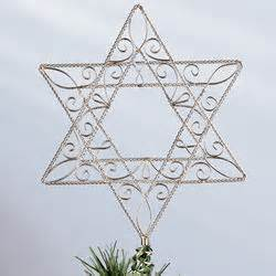 star of david tree topper findgift com