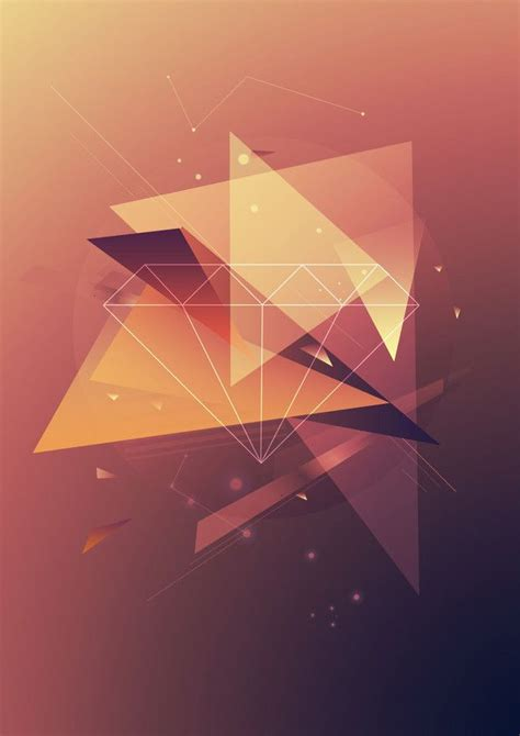 Daily Inspiration 915 Geometric Poster Geometry And Geometric Inspiration