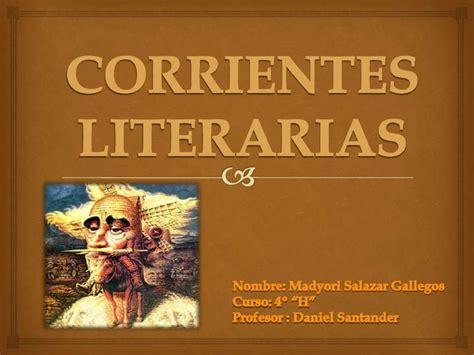 ejemplos de imagenes literarias gustativas corrientes literarias