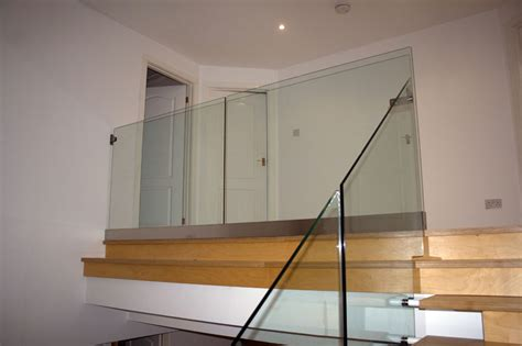 glass banister uk glass balustrades and stainless steel handrails in bristol